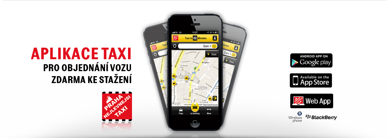 aplikace taxi